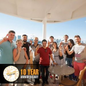 Celebrating 10 Years of GKhair on the annual Passport to Success Cruise