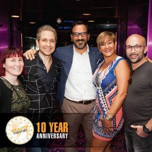 #GKhair International Sales & Education Team on the Passport toSuccess 10 year Anniversary Cruise